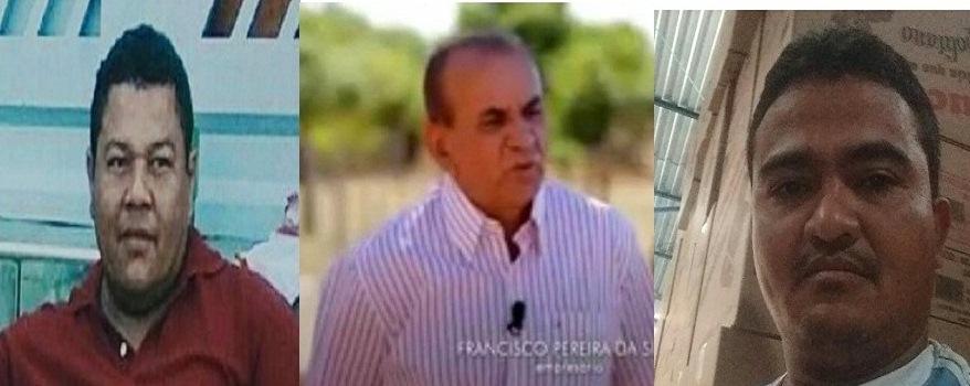 TRÊS HOMICÍDIOS EM JUAZEIRO. Empresário do ramo imobiliário, ex-presidiário e industriário foram executados a tiros neste sábado