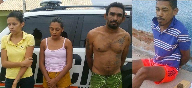 Polícia desarticula  quadrilha de traficantes, em Assaré