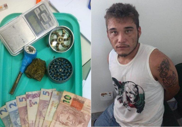 Acusado de tráfico de drogas em Assaré, é preso em ação conjunta das Policias Civil e Militar