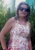 Aparecida Lima Ferreira Gurgel, 40 anos de idade, conhecida por Piriu,