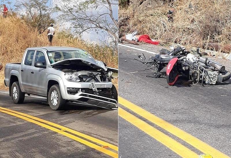 Casal morre após colisão entre veículos na CE 060 em Caririaçu