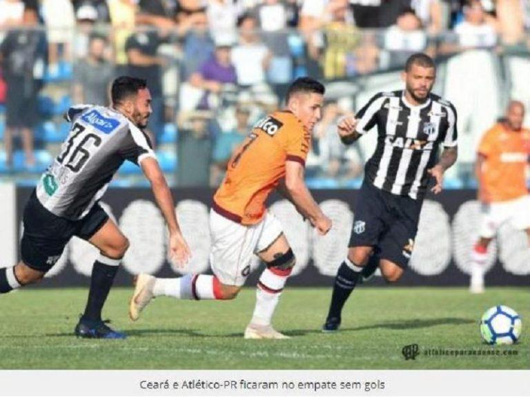 Ceará 0 x 0 Atlético-PR – Empate que deixa ambos na zona de rebaixamento