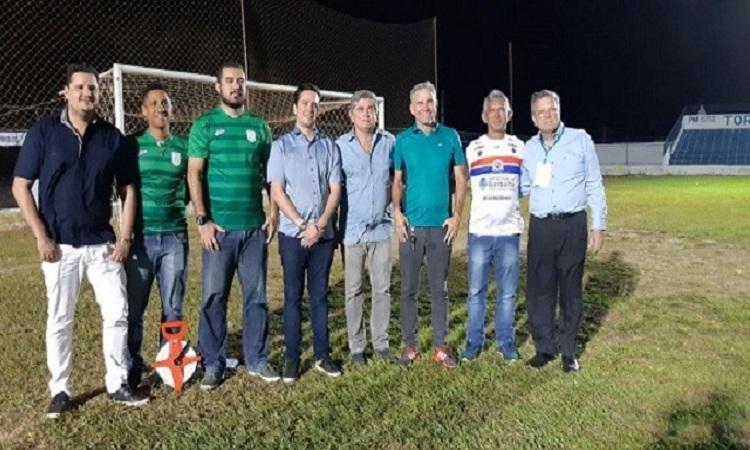 Equipe da FCF segue com as vistorias nas praças esportivas do interior do estado