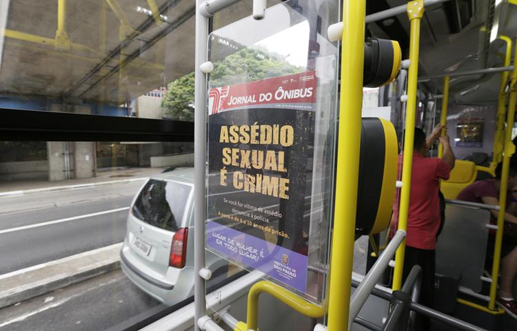 Importunação sexual  é considerada crime pelo Senado