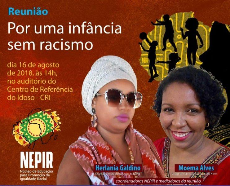 """JUAZEIRO DO NORTE Nuca promove debate """"Por uma infância sem racismo"""""""