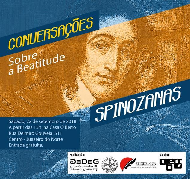 Encontro filosófico discute temas trabalhados por Baruch Spinoza, em Juazeiro do Norte