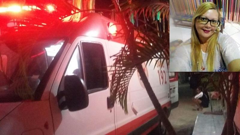 Feminicídio registrado na noite deste domingo em Crato, mulher de 40 anos foi morta a facadas