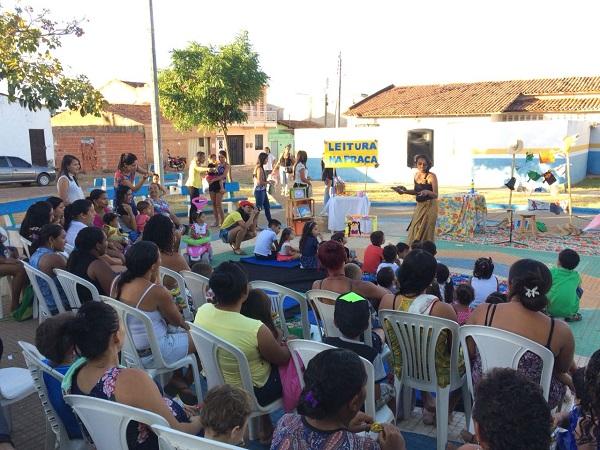 Projeto estimula formação de jovens leitores em Barbalha