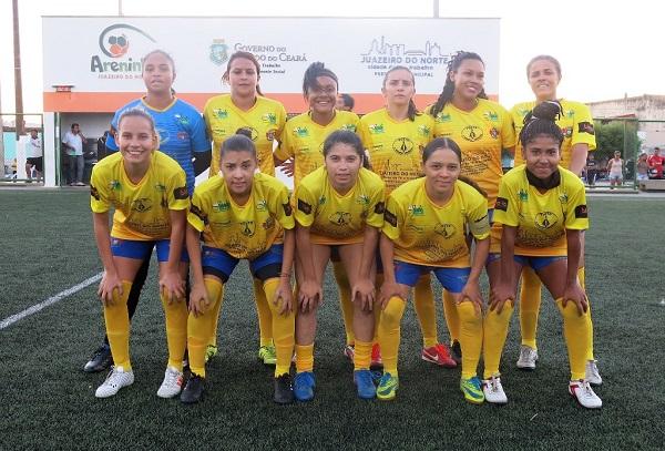 Seleção feminina de futebol de Juazeiro do Norte vence primeiro amistoso preparatório
