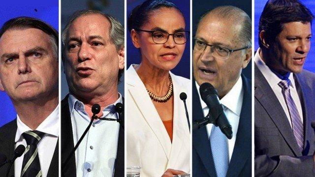 Datafolha: Bolsonaro lidera com 26% das intenções de voto; em segundo, Ciro e Haddad têm 13%