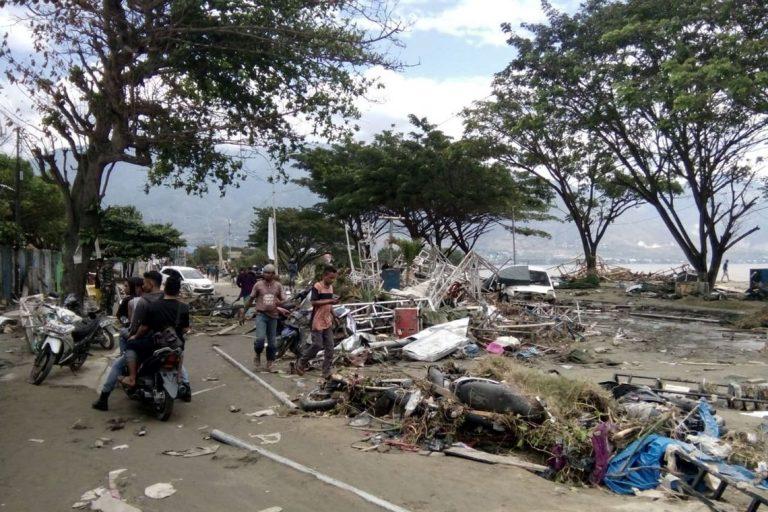 Aumentou para 844 o número de mortos na Indonésia