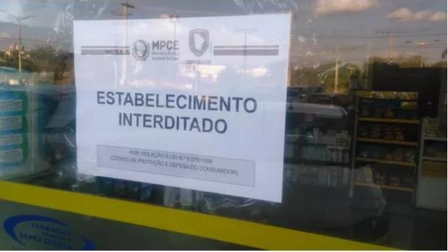 Operação em 21 cidades do Cariri fecha farmácias irregulares
