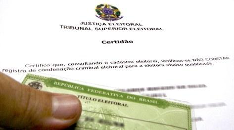 Eleitor pode emitir certidão de quitação eleitoral a partir de segunda
