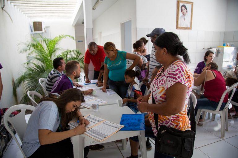 Juazeiro do Norte sedia pela primeira vez triagem da Operação Sorriso Brasil
