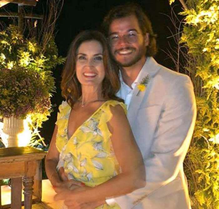 Fátima Bernardes e Túlio Gadêlha comemoram aniversário de namoro