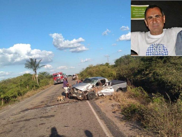 Proprietário da Arnaldo veículo em Juazeiro morre em colisão entre veículos na rodovia Crato-CE – Exu-PE no município pernambucano