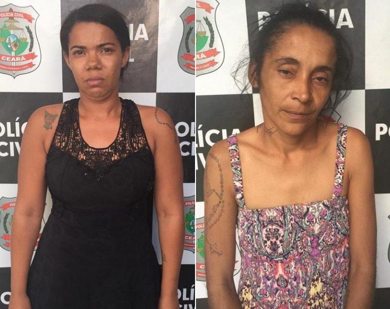 Duas mulheres são presas no cariri com quase oito quilos de maconha