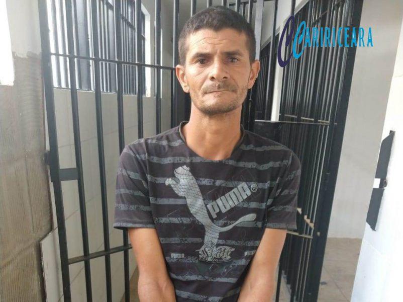 Policia civil prende acusado de matar colega de farra e enterrar o corpo da vítima numa cova rasa zona rural de Granjeiro