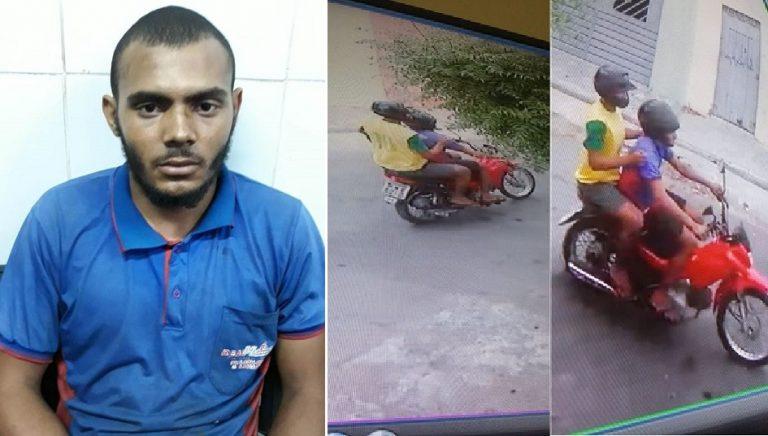 Após tentar cometer assalto mecânico é preso ao ser reconhecido por vítima através de imagens de Câmera de monitoramento, em Juazeiro