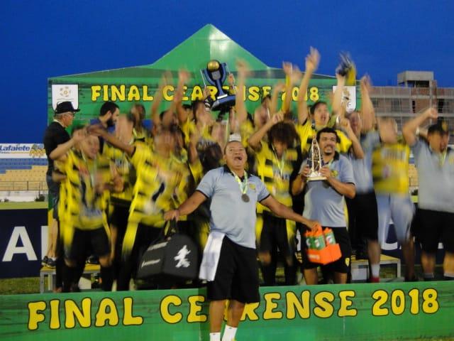 Campo Grande é campeão invicto da série ''C'' do Campeonato Cearense