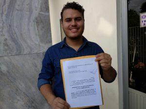 Matheus Ramalho, do Movimento Renova Juazeiro