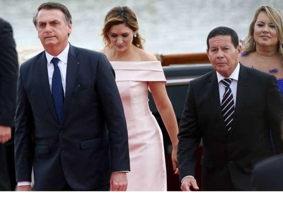 Em discurso de posse, Bolsonaro defende pacto nacional e sociedade sem divisões