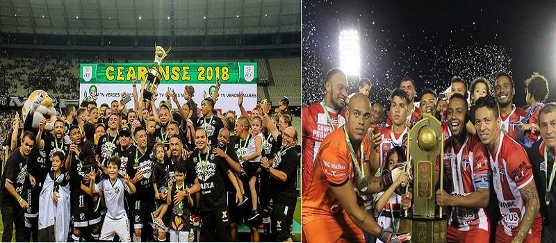Ceará e Ferroviário vão decidir a Taça dos Campeões 2019 na Arena Castelão