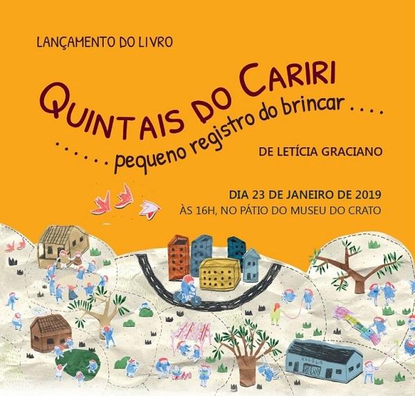 Coletivo Aliás lança livro Quintais do Cariri, dia 23, no Museu do Crato