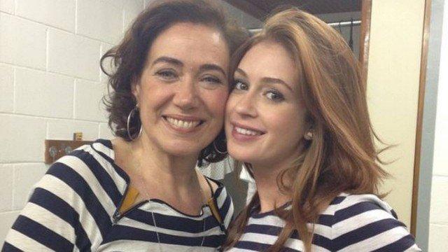 Lília Cabral se exalta com Marina Ruy Barbosa nos bastidores após atraso: 'mimada!'