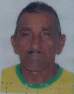 Antonio Higino Teixeira,  o seu Antonio Carreiro. na época com 75 anos foi morto com quatro facadas, uma no pescoço, duas no tórax e outra nas costas - Foto:  Redes sociais