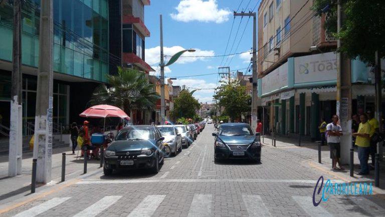 Crato - rua Dr. João Pessoa - Foto Jota Lopes _Agência Caririceara.com