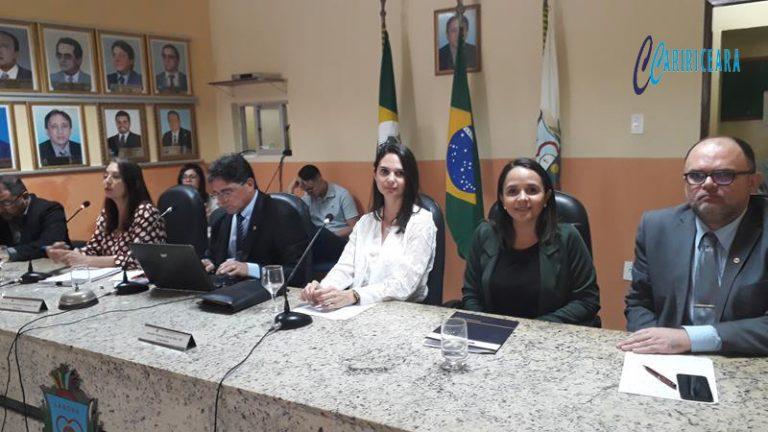 Câmara do Crato promove audiência debate sobre a reforma da previdência Foto Jota Lopes_Agência Caririceara.com