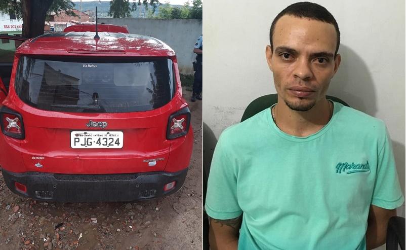 Dedetizador  é flagrado pela policia de Jardim (CE) na posse de carro com queixa de furto/roubo