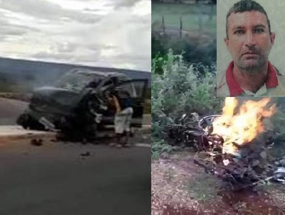 Motociclista morre ao ter perna e braço decepados e ficar com as vísceras expostas após seu veículo ser colhido por carro na CE 293 em Missão Velha