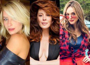 Profissional dá dicas para copiar os tons dos cabelos de Claudia Raia, Isabelle Drummond, Barbara França e Giovana Cordeiro