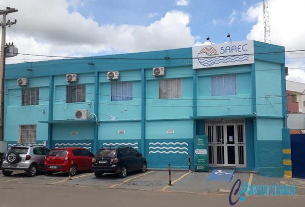 Em Crato, feriado de carnaval, a SAAEC funcionará em regime de plantão