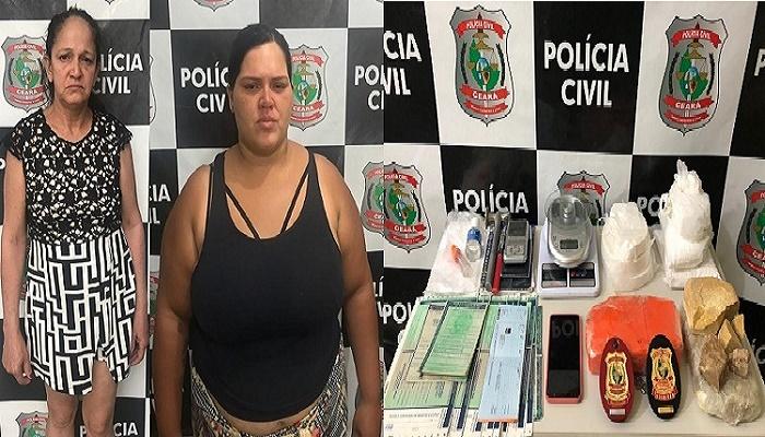 VERA LÚCIA GAMA CORREIA, 54 anos e RITA DE CÁSSIA GAMA CORREIA, 28 anos FOTO WHATSAPP