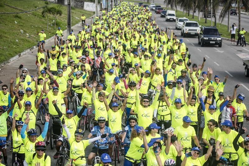 Inscrições abertas para maior passeio ciclístico do Ceará