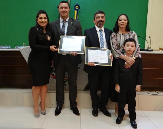 Câmara de Barbalha outorga Título de Cidadão aos delegados de Polícia Civil Dr. Júlio Agrlli e Dr. Marcelo Moura