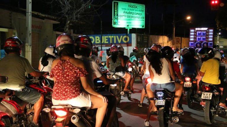 Moto carreata e missa abrem festa de São José Operário de Ponta da Serra, no Crato FOTO SITE DA DIOCESE DE CRATO