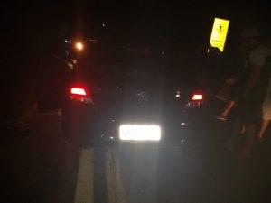 Carreta envolvida na colisão com o automóvel em que viajavam as vítimas - Foto: Agência Caririceara.com