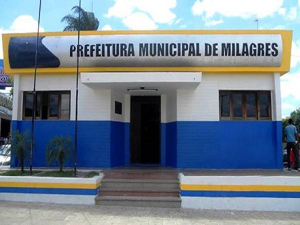 Prefeitura de Milgares - Foto Divulgação 600 x450