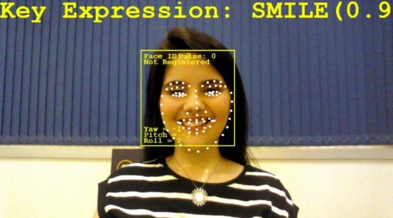 Reconhecimento facial de startup foto divulgação