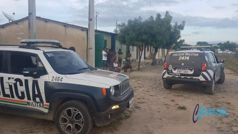 Viaturas da Polícia Militar de Campos Sales (CE). Foto: Agência Caririceara.com