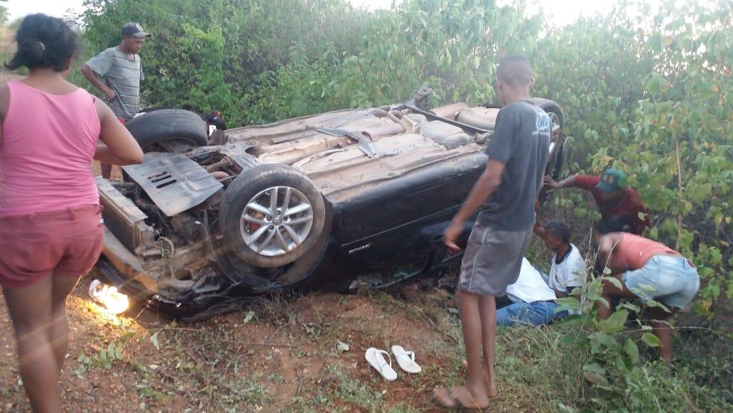 Acidente com vítima fatal no sítio Balanças, em Jati. 23.06.2019 Foto Redes sociais