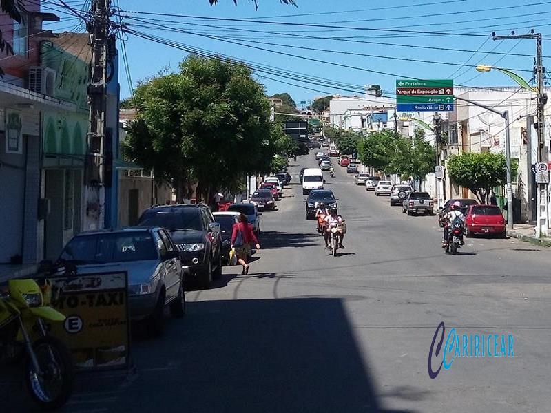 Avenida Duque de Caxias em Crato Foto Jota Lopes_Agência Caririceara.com