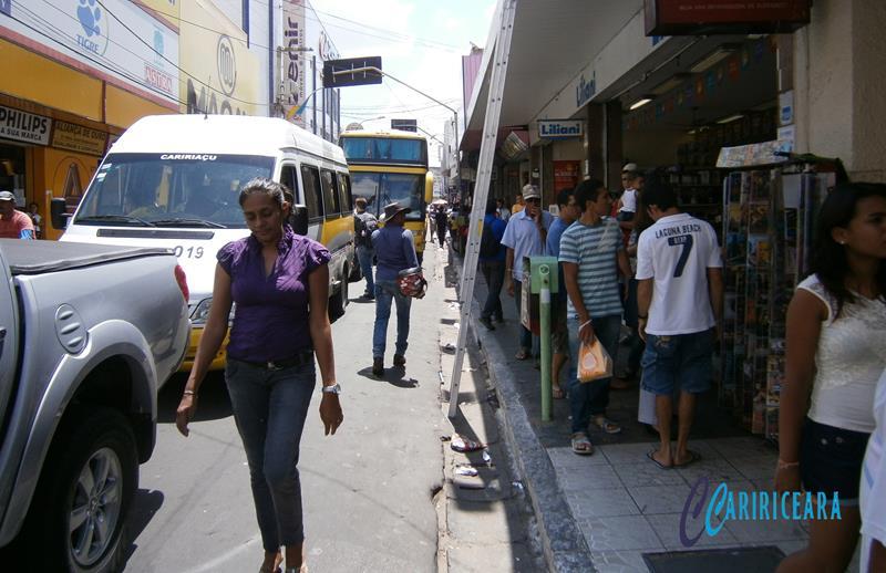 Centro comercial de Juazeiro - Foto Jota Lopes_Agência Caririceara.com