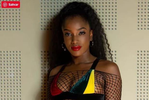 Especialista revela os truques da sobrancelha da cantora IZA - Foto Revista QUEM