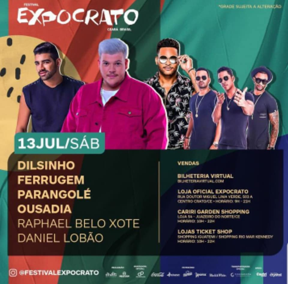 Festival Expocrato 2019 supera expectativas e oferece facilidades na garantia de ingressos