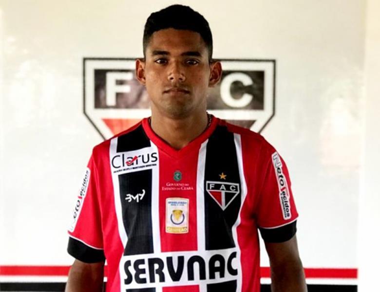Nael, que foi o vice-artilheiro da Segunda Divisão Cearense pelo Campo Grande, de Juazeiro do Norte-Foto Lenílson Santos